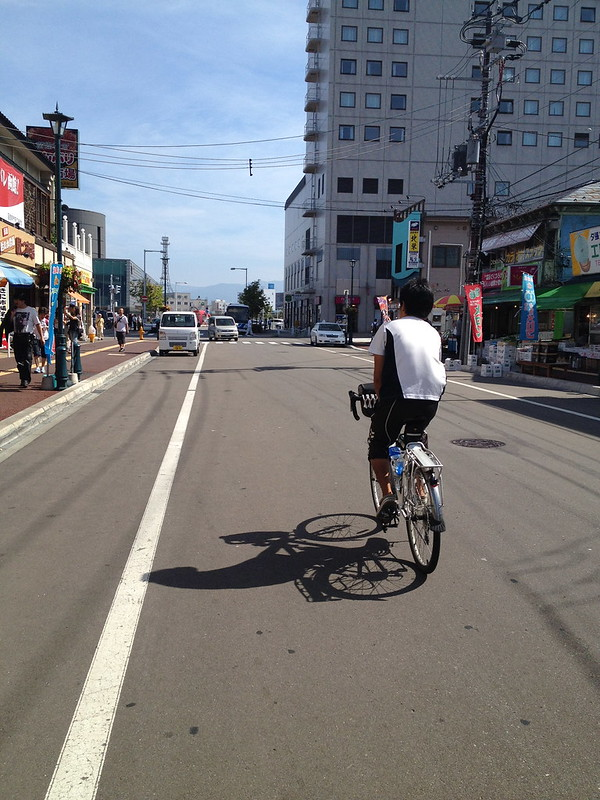 shinyaさんと函館朝市へ