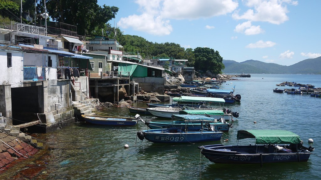Boats at Tap Mun