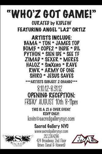 Art Show this Friday. by VLNSNYC