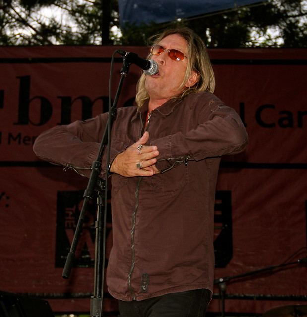 Cy Curnin, Lead Singer of The FIXX, Munch and Music Bend Oregon 2012, RealTVfilms