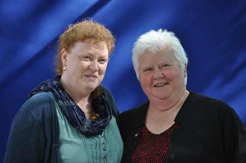 Sue Black and Val McDermid
