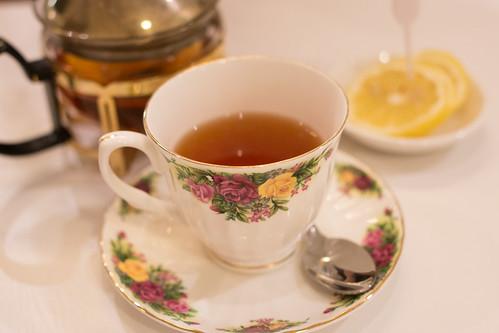就算cw 之期臨近, 也要喝一口紅茶淡定下
