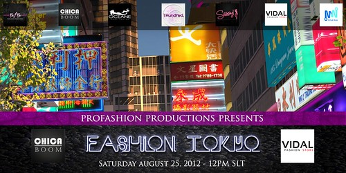 PFP Virtual Asia Fashion Show 8/25 12pm SLT