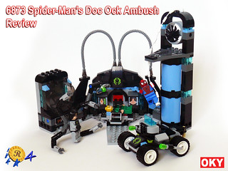 6873 Spidermans Doc Ock Ambush Review