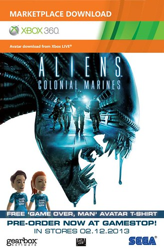 Aliens: Colonial Marines Avatar Card