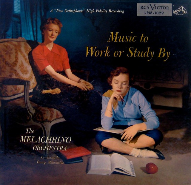Music To Work Or Study By — The Melachrino Orchestra