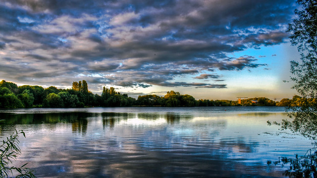 0300 - England, Nottingham, Colwick Park HDR
