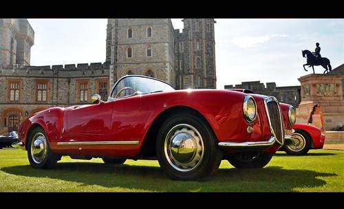 1955 Lancia Aurelia B24 Spider - 2012 Windsor Concours of Elegance