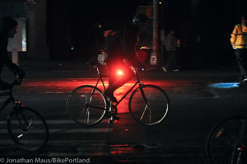 Biking the blackout - NYC-13