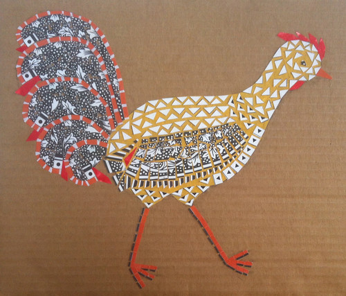 Chicken Collage by randubnick