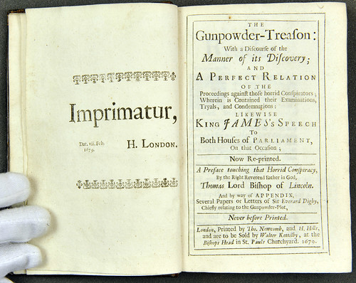 The gunpowder-treason, 1679