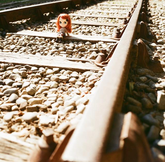 線路とブライス