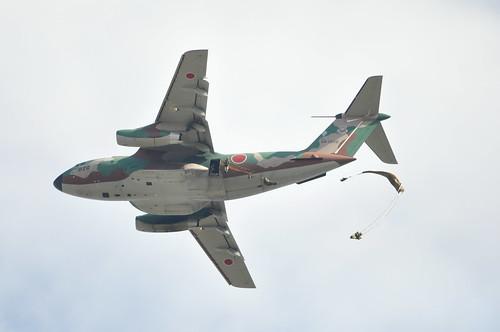 落下傘部隊降下 C-1