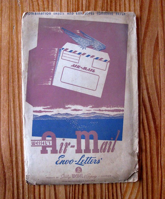Wessel's Air-Mail Envo-Letters