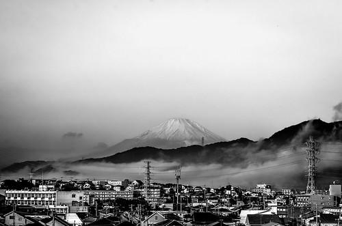 今朝の富士山 by 1/4th, on Flickr