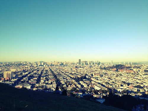 San Francisco seen from Bernal Hill