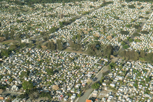 Vista aérea cementerio Cristo Rendentor by mdelcid