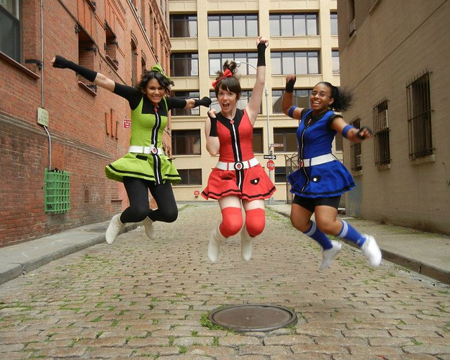 Anime dance trio IchiP. Photo by Kale Fred Ng.