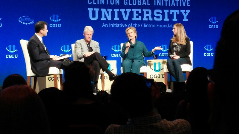 Fourteen students participated in Clinton Global Initiative University conference in Arizona