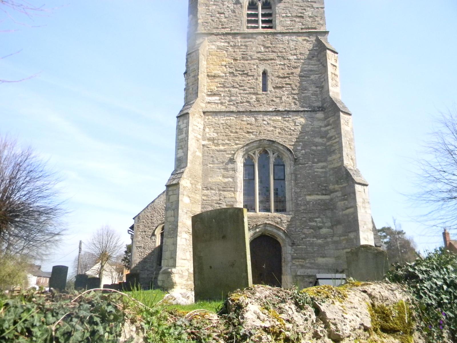 Cuddington Church Haddenham to Aylesbury