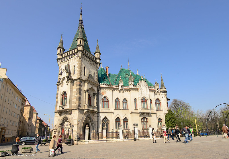 Jakab's Palace in Kosice, Slovakia