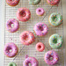 pastel rainbow glazed donuts recipe by Coco Cake Land