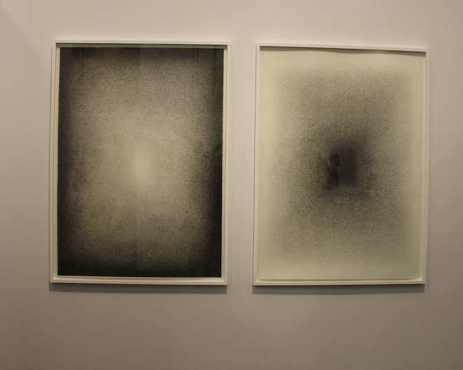 Ignacio Uriarte at booth Figge von Rosen Cologne Berlin