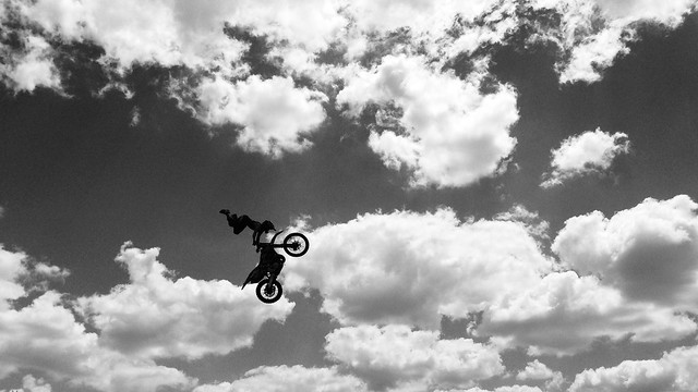 Bike Flying