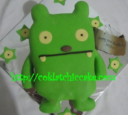 Kue ulang tahun ugly doll