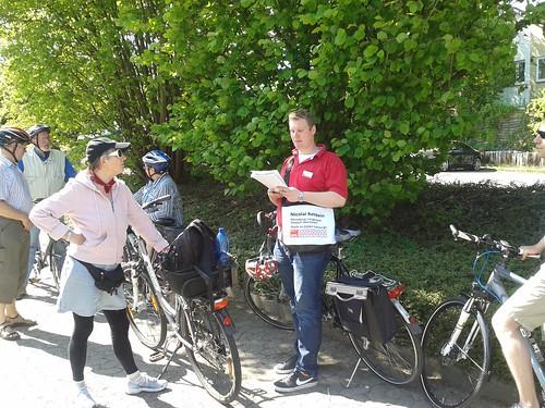 SPD Fahrradtour durch Harburgs Süden