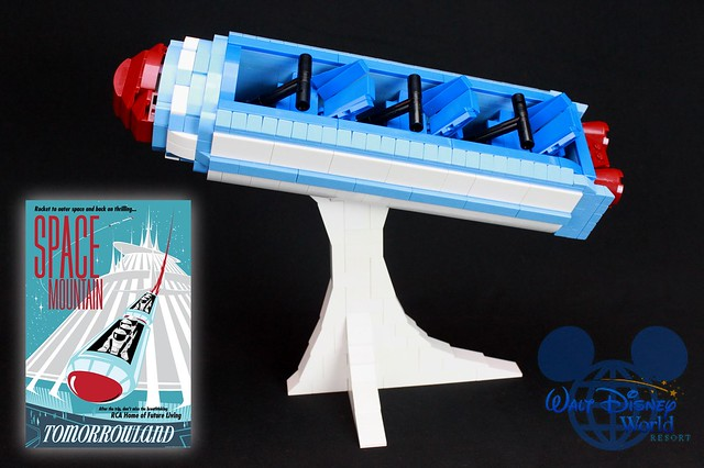 LEGO Space Mountain
