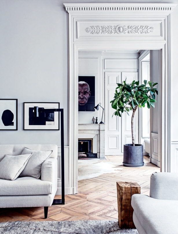 A Modern French Apartment