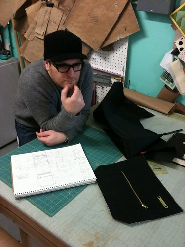 Multilevel Sewing Projects: Clay ponders his EPIC messenger Bag