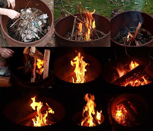 Finally Mastering Campfire Starting