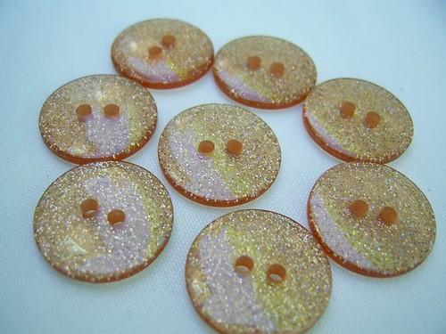 buttons! sparkles!