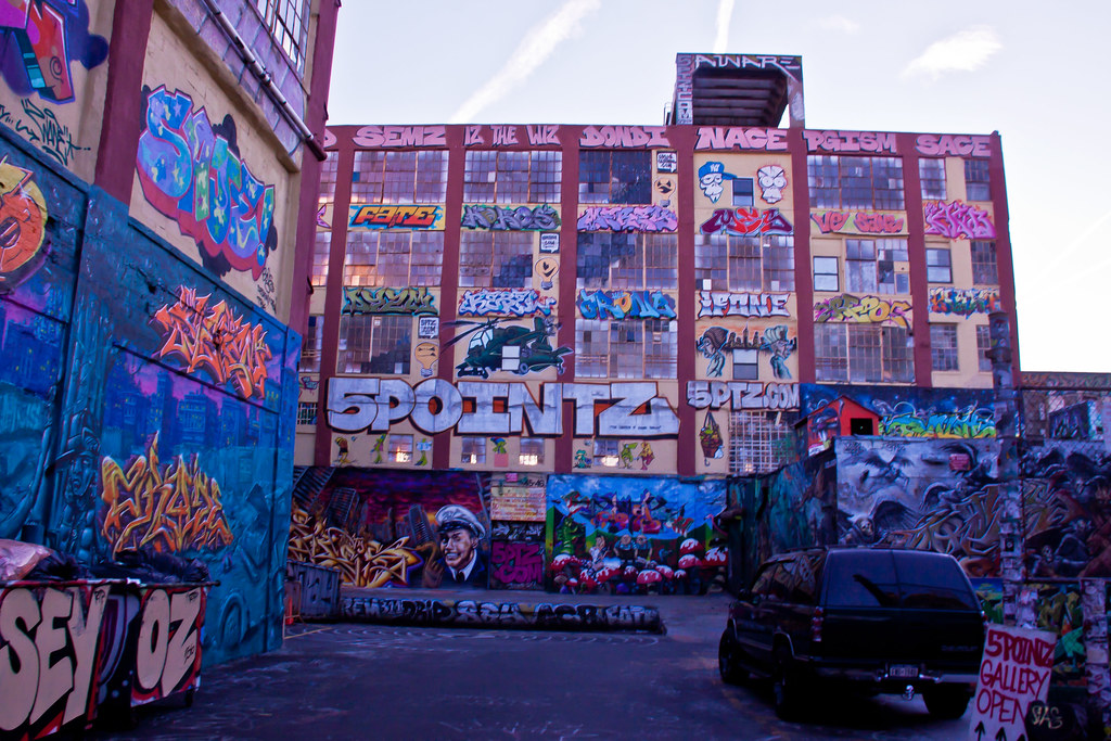 5 Pointz Art Space - Long Island City, Queens