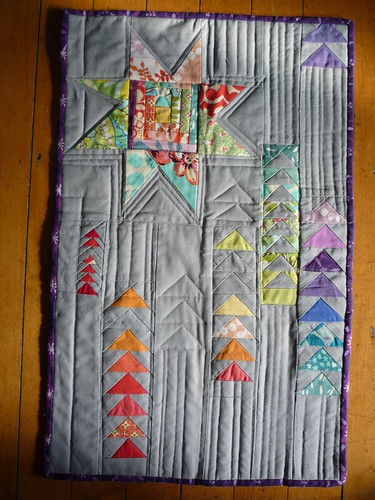 Better view of the quilting