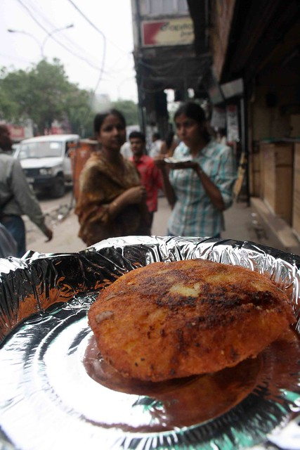 City Food - Aloo Tikki, Around Town