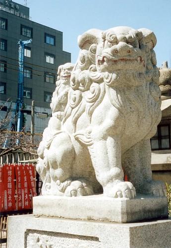 狛犬/imperial guardian lions