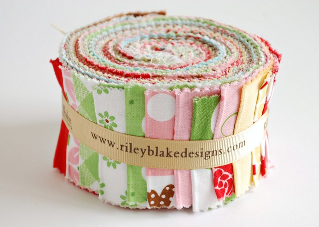 sew cherry jelly roll