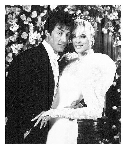 STALLONE WEDDING