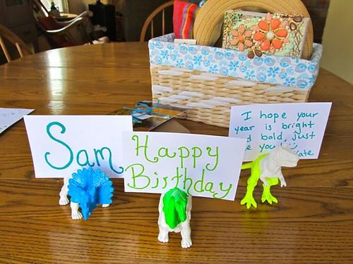 Birthday Neon Dinos