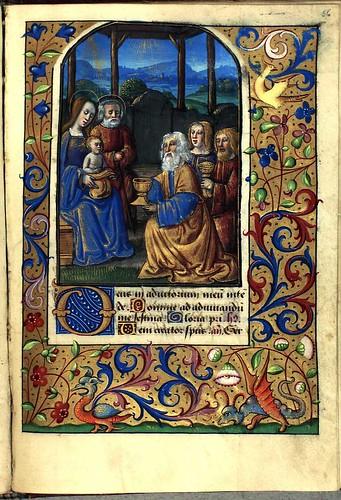 023-Book of Hours -GKS 1610 4º-Det Kongelige Bibliotek