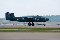 aviation, military aircraft, airplane, propeller driven aircraft, vehicle, north american b-25 mitchell, bomber, air force,