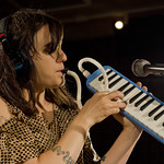 Emily Wells on melodica