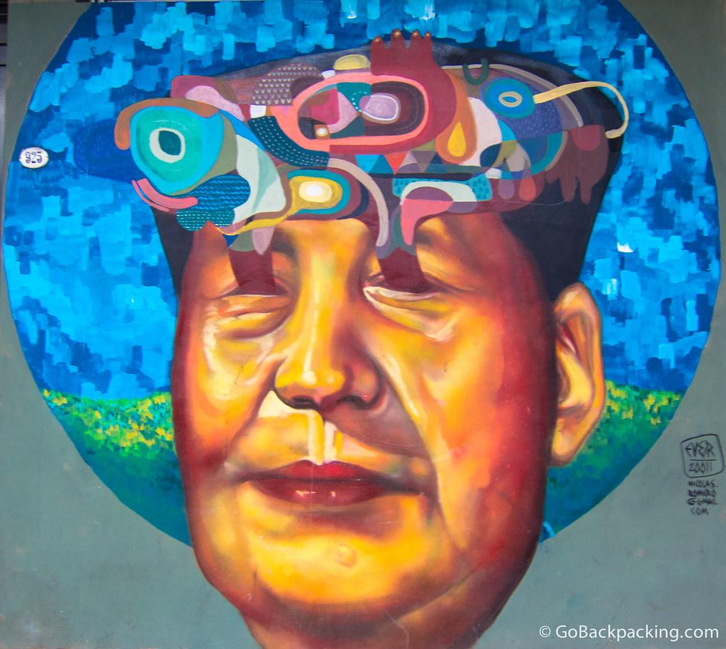 Mao graffiti