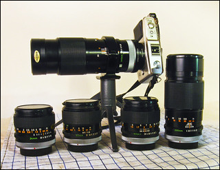 Five FD Lenses