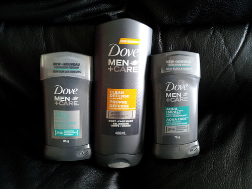 Thanks Dove Men+Care for the care package