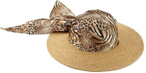 Cappelli Women's Toyo Braid With Animal Print