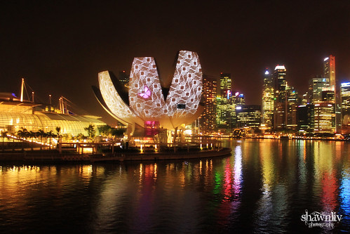 MArina Bay Sand ilight